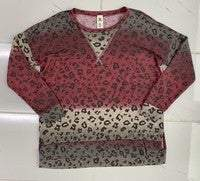 JA027 Sew In Love The Love Me Cheetah Long Sleeve