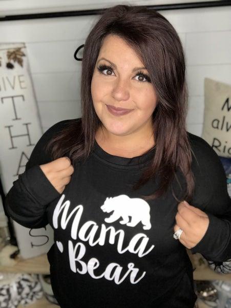 903 Mama Bear Pocket Sweatshirt