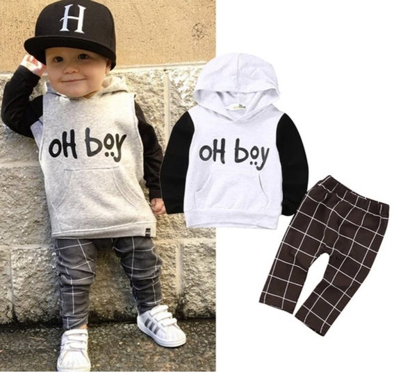 1065 Two Piece Toddler Outfit Oh Boy