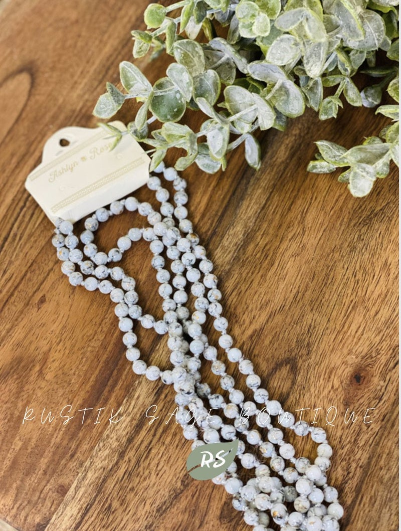 M81 Southern Greys Bead Necklace