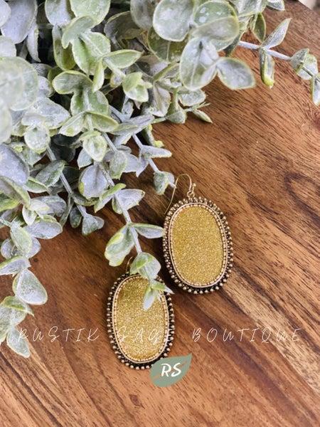 M97 Gold N' Shimmer Earrings