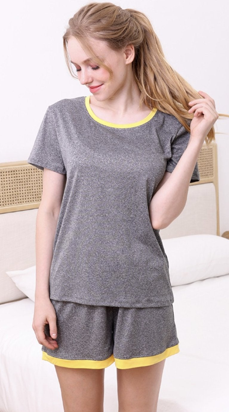 840 Good sleep Shorts Pajama Set