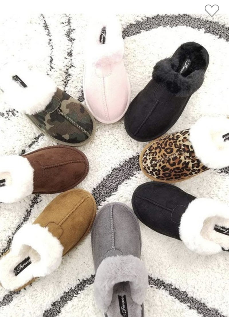 1017 Forever Cozy Fur Slippers