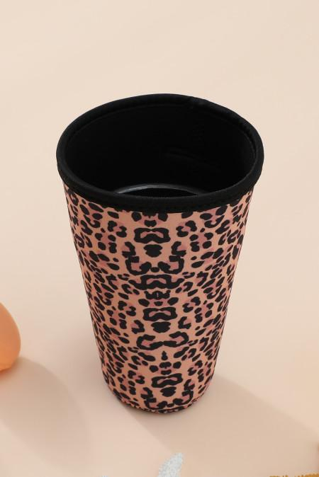 1044 Leopard Neoprene Tumbler Cup