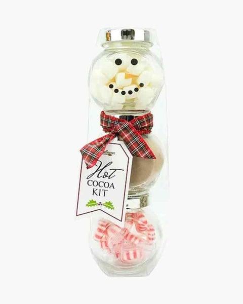 1201 Too Gourmet 3-Tier Snowman Hot Cocoa Set