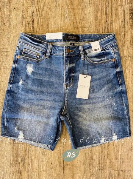 AP47 Judy Blue The Hadlee Shorts #2