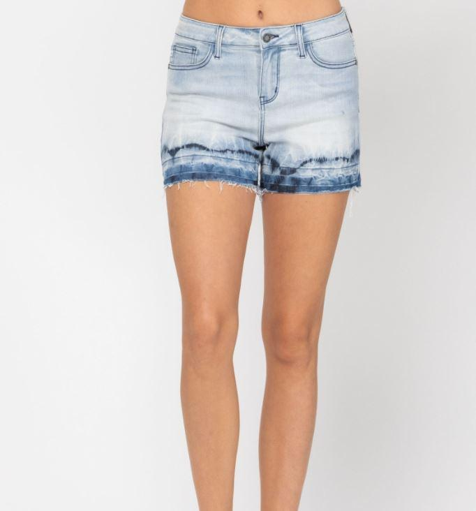 F03 Judy Blue Over the Hills Shorts