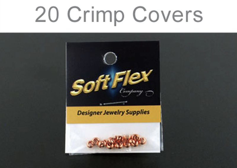 Soft Flex Copper Crimp Cover, 3mm
