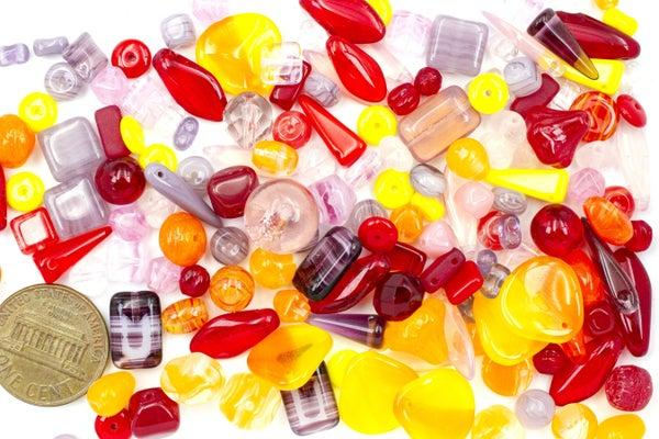 Premium Czech Glass Bead Mix, Jewel Mix