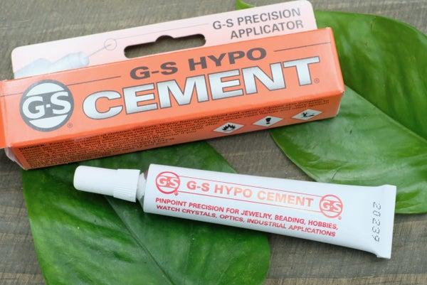 G-S HYPO Cement Glue, 1/3 fl.oz Tube