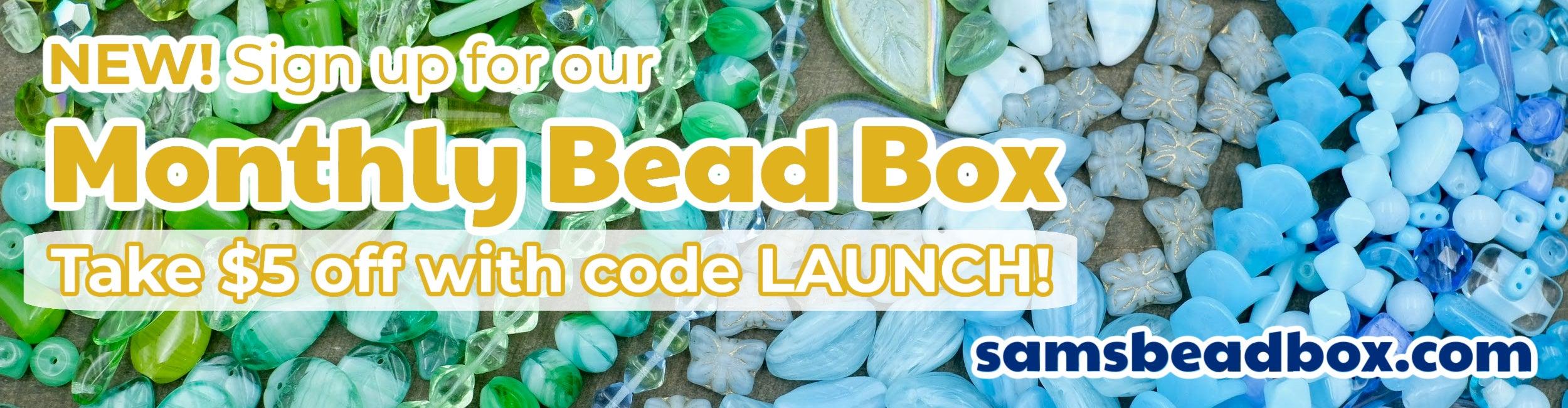 Sam's Bead Box is here!