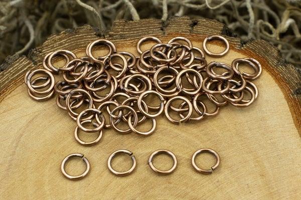 TierraCast Round Jump Ring, 20 Gauge, Copper, 4mm Inside