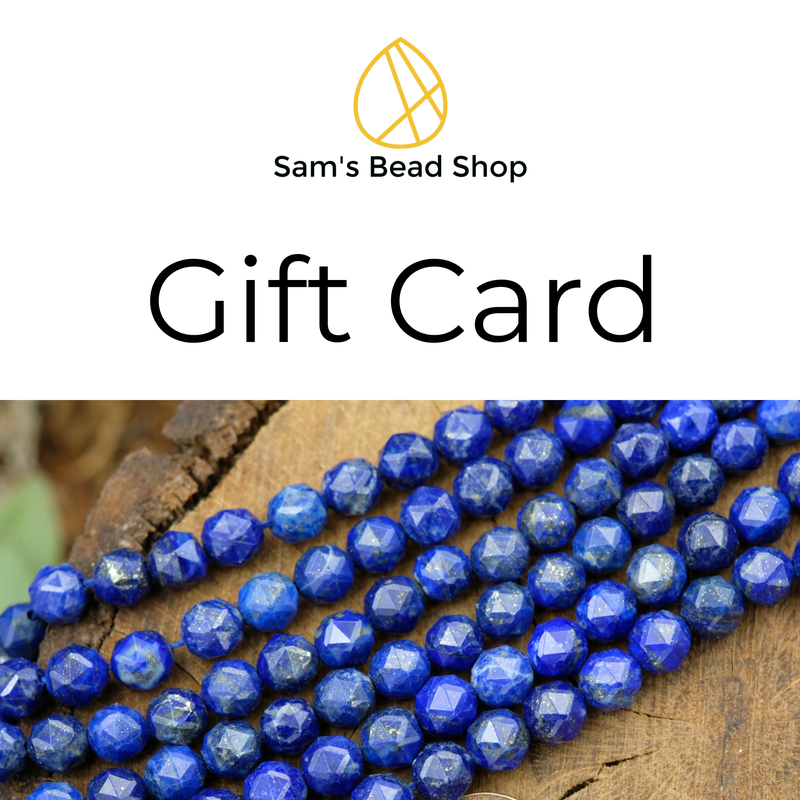 Sam's Bead Shop: Gift Card