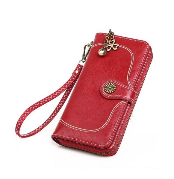 Retro wallet Red