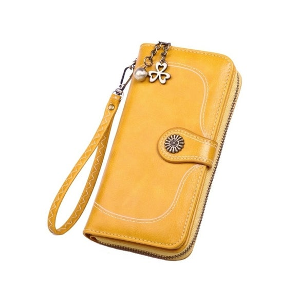 Retro Mustard Wallet