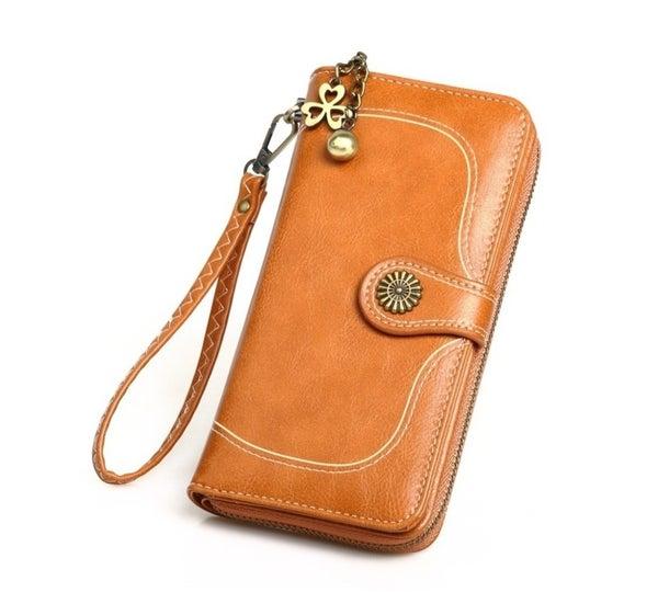 Retro Brown Wallet