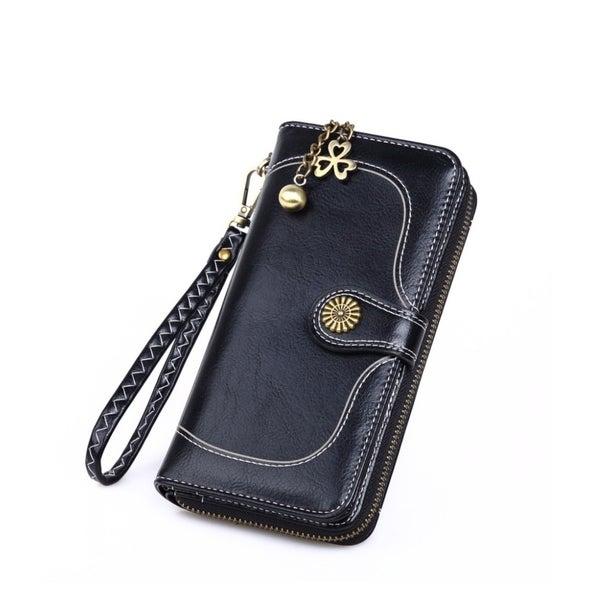 Retro Black Wallet