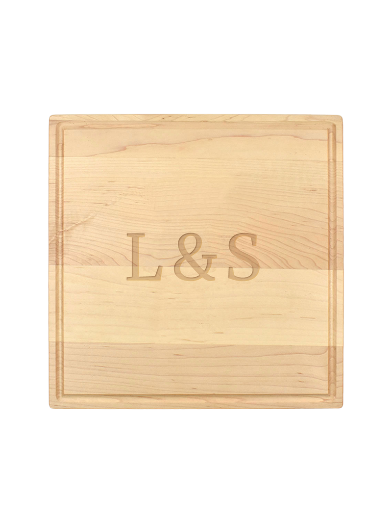 Ampersand Personalized Serving Board
