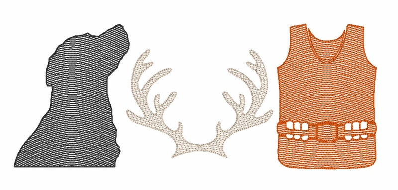 Deer Hunting Girls' Short Sleeve Shirt