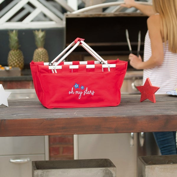 Oh My Stars Red Market Tote