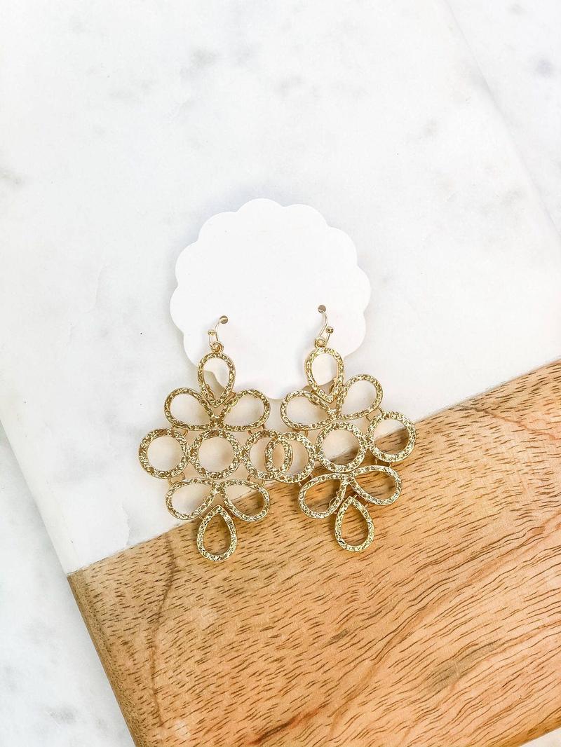 Coil Dangle Earrings