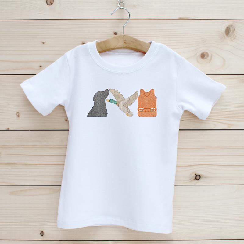 Duck Hunting Boys' Short Sleeve Shirt
