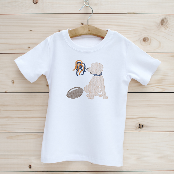 Football Puppy Boys' Short Sleeve Shirt