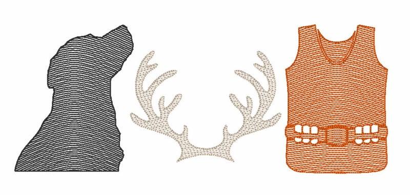 Deer Hunting Girls' Long Sleeve Shirt