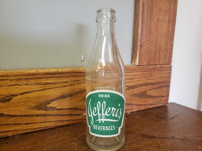 Jefferis Beverages Bottle