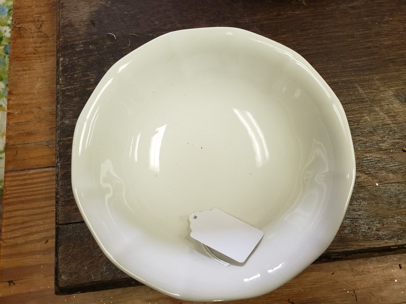 Adams iron stone bowl