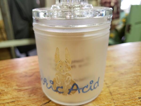 Vintage Boric Acid Jar