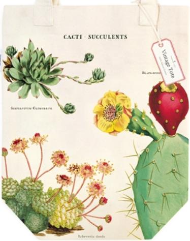 Cacti & Succulents Tote Bag