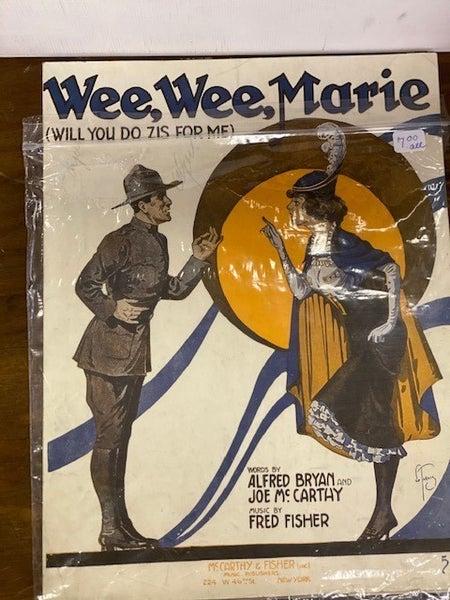 Wee wee Marie
