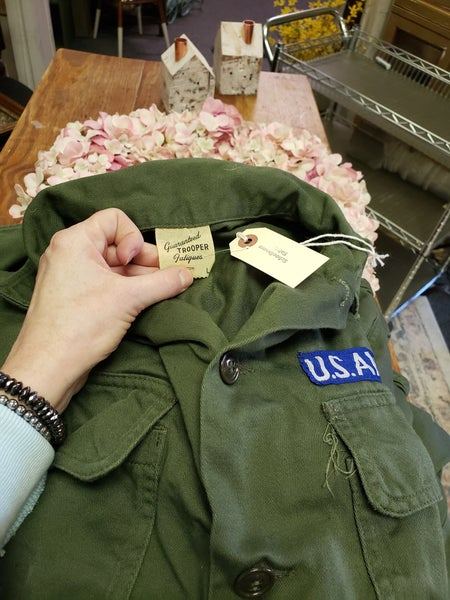 US Army Shirt/Jacket-LARGE
