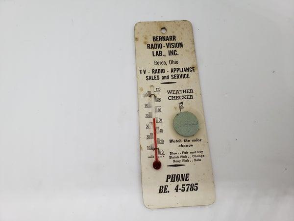 Bernarr Radio Vision thermometer