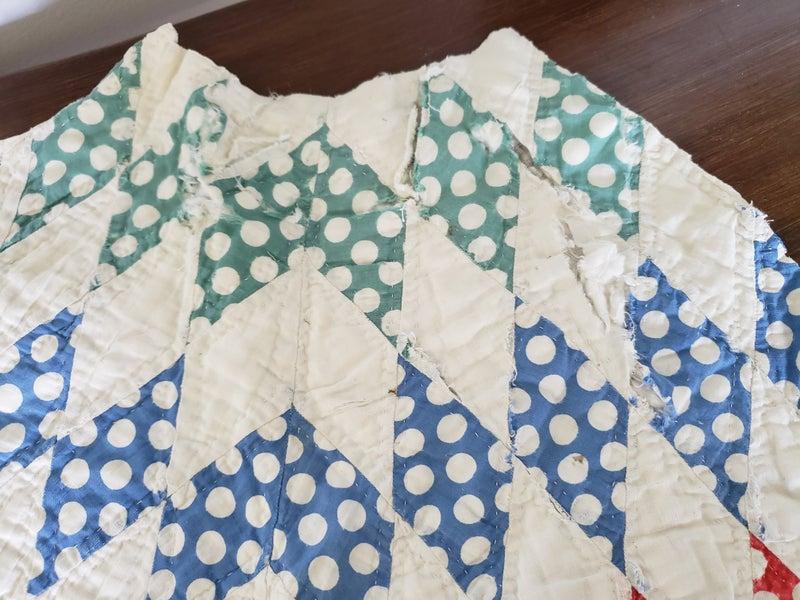 Antique quilt piece