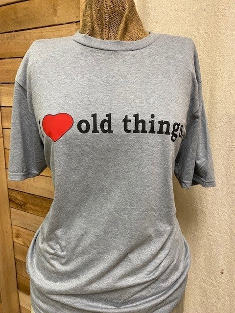 I HEART OLD THINGS SHIRT