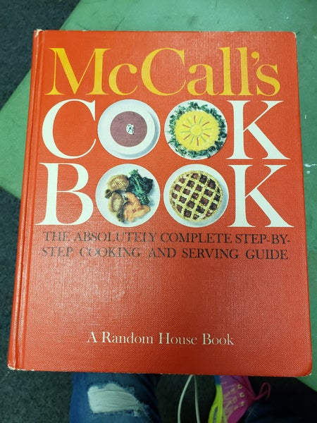 1963 McCall's Cook Book- First Printing
