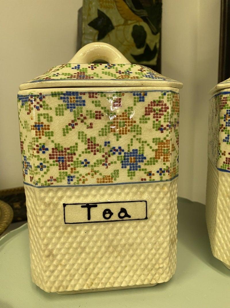 Tea/POD canister