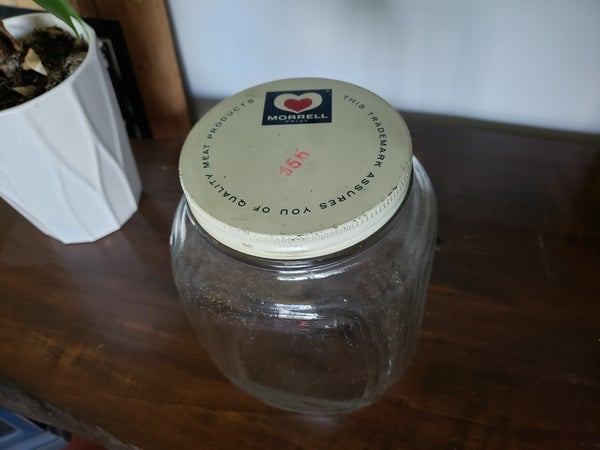 Vintage Jar w/Lid
