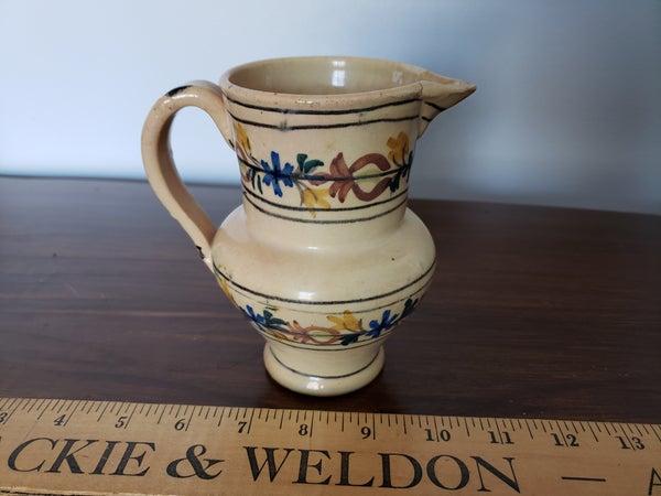 Vintage Spainish Stoneware creamer