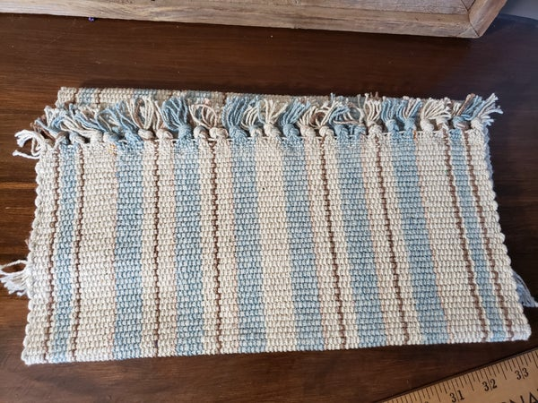 Set of 2 Blue Placemats