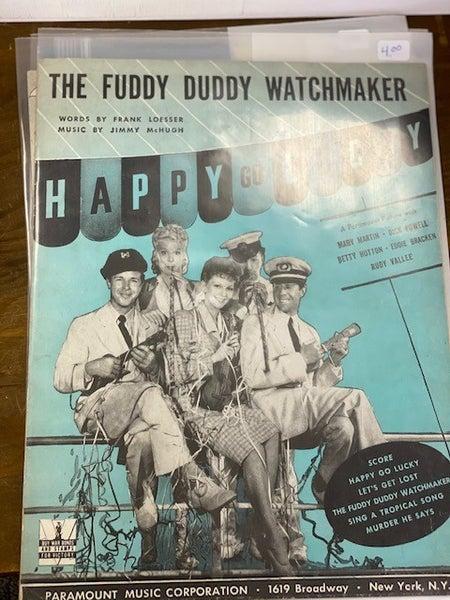The fuddy duddy