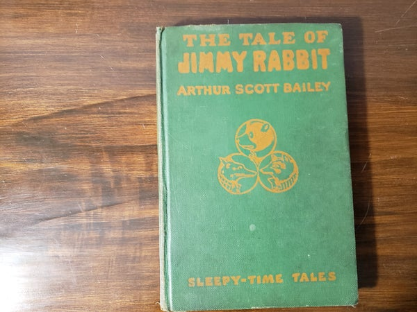 1916 the Tale of Jimmy Rabbit