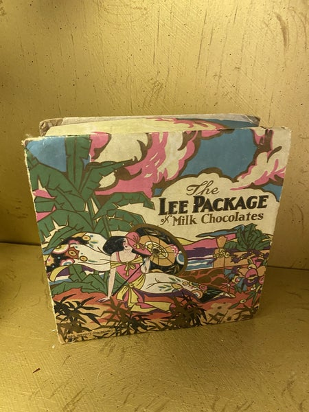 Lee package of chocolates