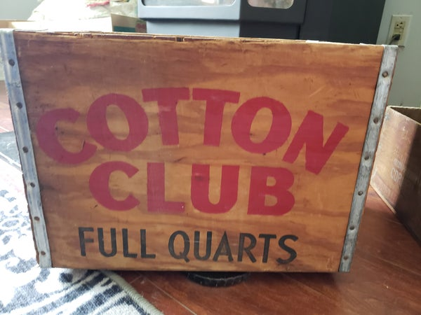 Cotton Club Crate-NO SHIPPING