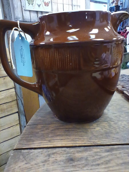 Hall pottery pitcher