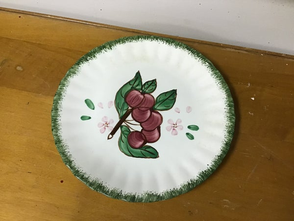 Hand Painted Dish w/ fruit design