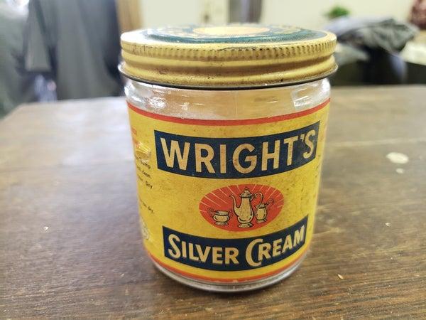 Wrights Silver cream bottle