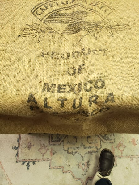 Mexican coffee bag